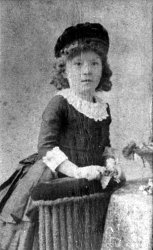 c. 1890 Mrs. Elizabeth Watson's daughter Ruth.