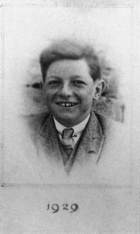 1929 George John Kirby, brother of Ruth Kirby.