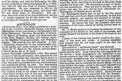 18 June 1896 Jackson's Oxford Journal - continued report of the accidental death of Jeremiah George Kirby.