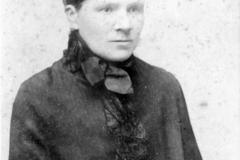 c. 1890 Mrs Elizabeth Watson.