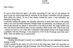 Letter 1 transcribed.