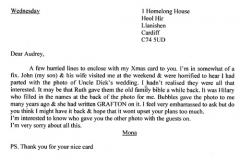 Letter 3 transcribed.