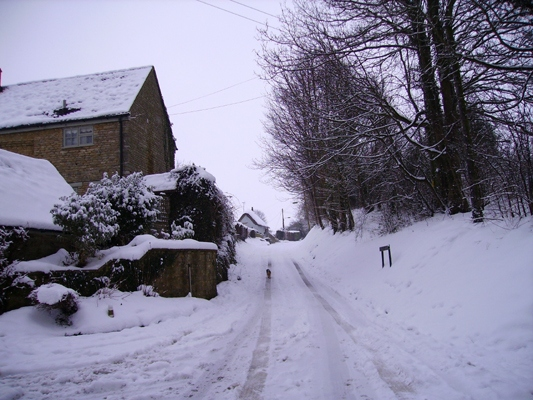 January 2010: Snow Hardroad Hill.