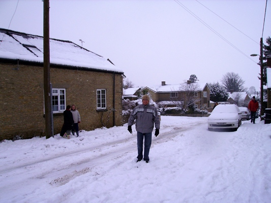 January 2010: Snow North Street. Martin Cox.