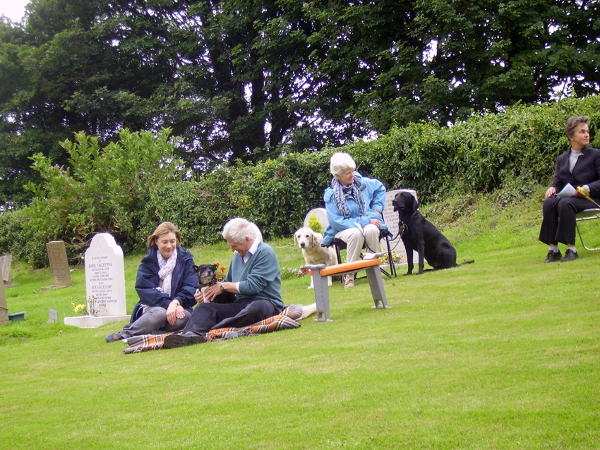 Pet service at Steeple Barton Church 2010. ?,?,?,?.