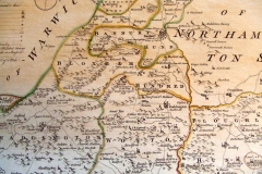 1765 Kitchin and Bowen British Atlas - North Oxfordshire.