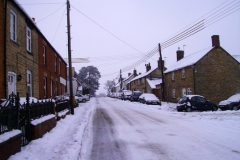 January 2010: Snow North Street.