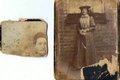Possibly Aubrey West's mother. No date.