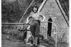 1942. Orchard and pump house. Olive.  Before the fire!!