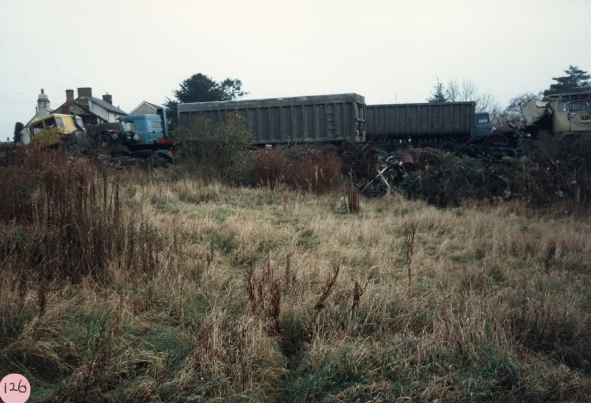 December 1986 Prior's Yard.