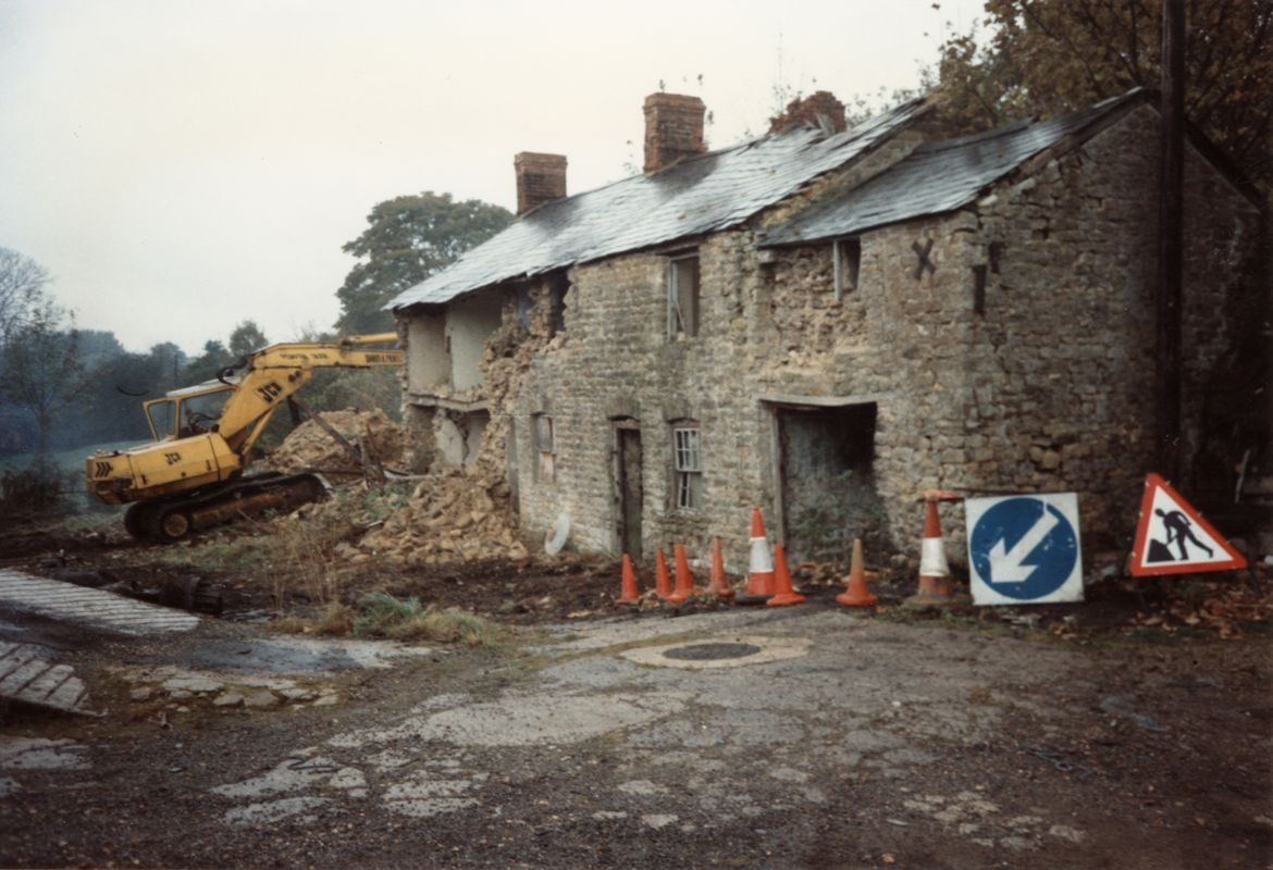 November 1993 The last of Washington Terrace.