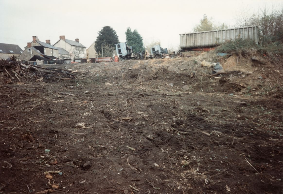 November 1993 Prior's Yard, North Street.