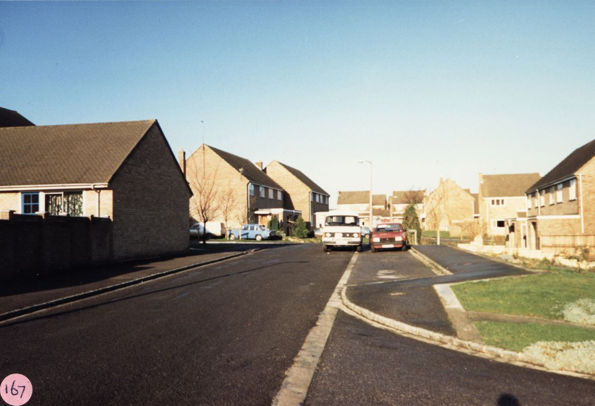 December 1986 from Fleming Drive looking north.