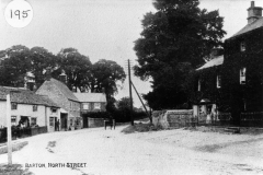 c. 1900 Before the butcher's shop was built.