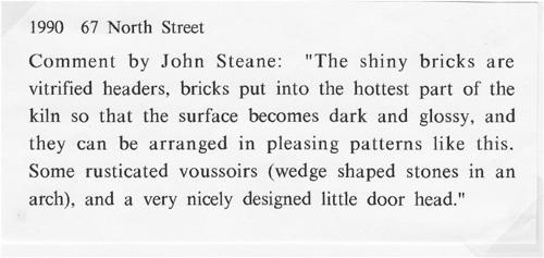 1984. 67 North Street.