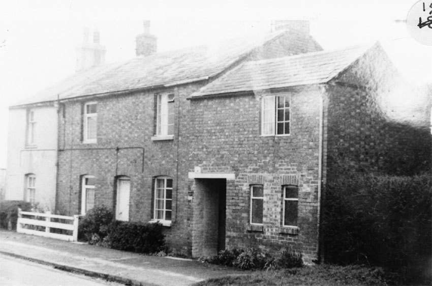1960. Houses were pulled down to provide the entrance into the Firs estate.