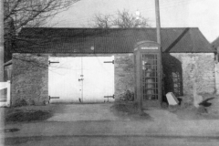 1977. Coal barn - now garage of No. 47.