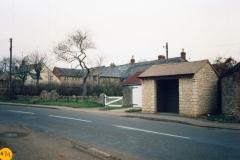 1990 December. Bus shelter.