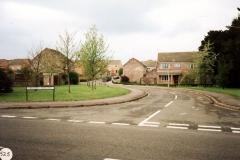 1991. Entrance to Firs estate.