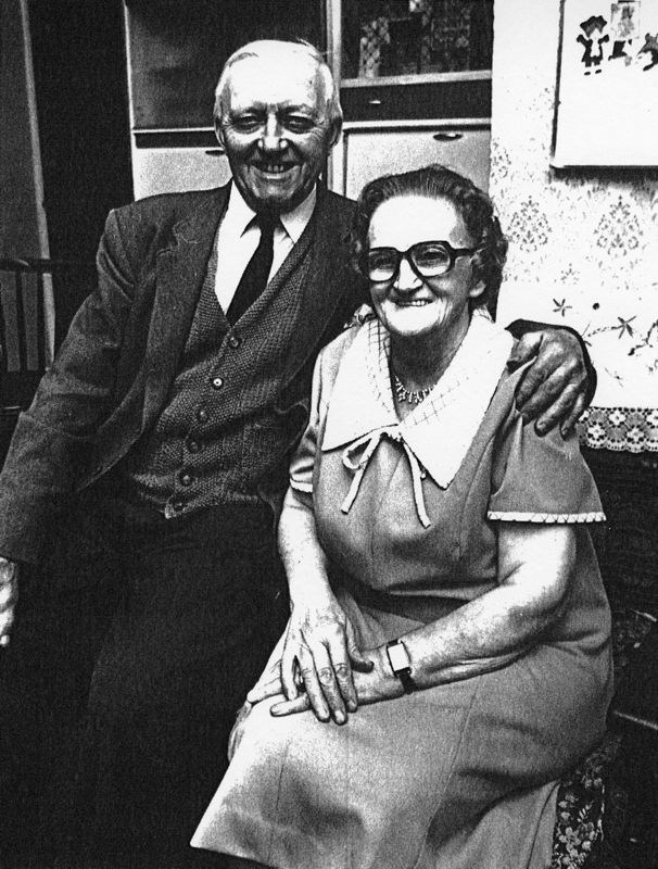 Mr. and Mrs. Sidney and Hilda Cox.