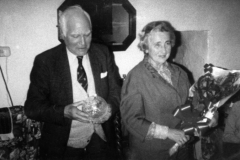 1984 Presentation by the Parish Council to Mr. and Mrs. John Fergie on his retirement.