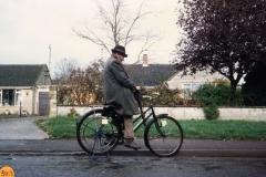December 1988 Ted Butler - the knife grinder.