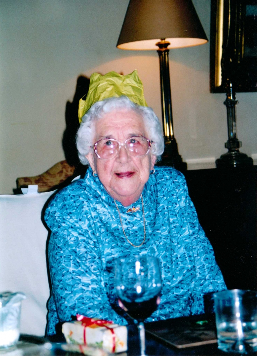 30 January 2005 Kathleen Brown - 90th birthday party - Barton Abbey