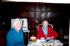 Kathleen Brown - Mrs Fleming's 85th birthday