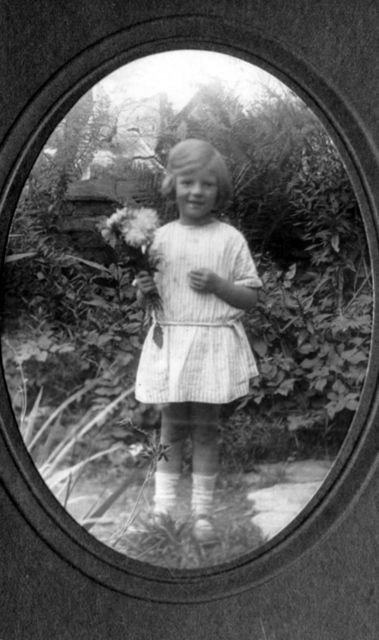 Bubbles in the garden of Brook House, Fox Lane.