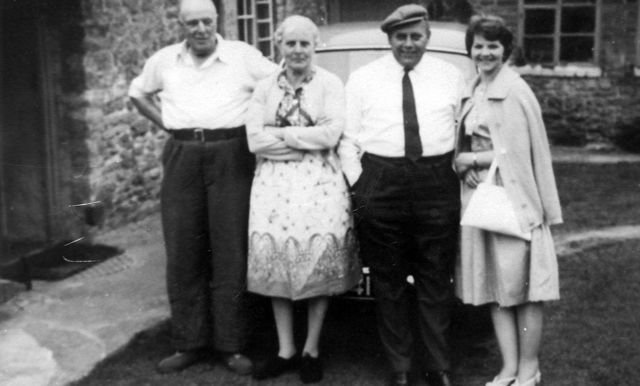 c. 1930 Ralph and Nell Stockford, her brother-in-law and his wife.