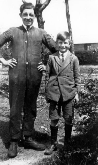 c. 1930 George Kirby and Fred Bradshaw.