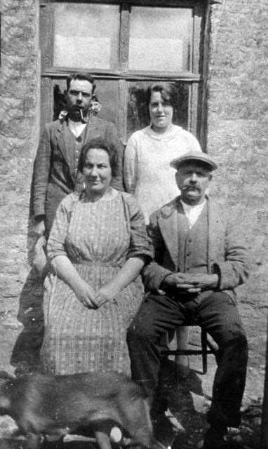 1930s Back: William (Bill) and Elsie Matthews, Front: Rosa and William (Will) Matthews.