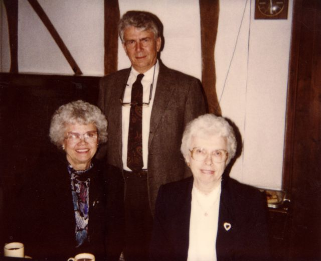 Donna K Luing Beye, Larry L Luing and Lois Luing Cerka.