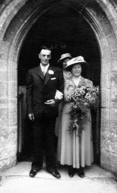 20th July 1949 Charles Gibbons and Winifred Gooding.