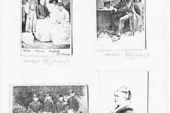 1870s Photocopy. The Marshall family.