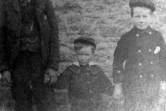 c. 1898 William, Martin, Frederick Baker.