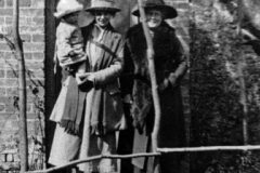 1920s Monica (Bubbles), her mother, Ada Stockford, and grandmother, Annie Hollis Stockford.