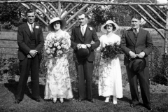 Winnie Kirby and Mr Humpries wedding.