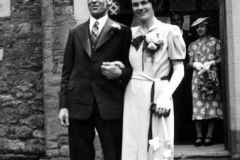 Kenneth Castle and Cicely Allington wedding.