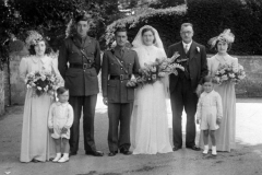 12th June 1943 Hawkin wedding.