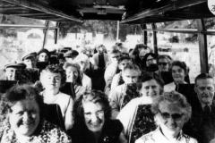 Front: Doris Bricknell, ANO, ? Storar; Nellie Cattle, ? Corbett; ? Pritchard, Hilda Cox; Margaret Hazell, Victoria Checkley; (Alison ? by window).