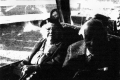 1970s Mrs Mabel Hudson and Mr William Doddimeade.