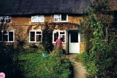November 1986. Mr. and Mrs Pound, 1, The Pitts, Sandford St. Martin.