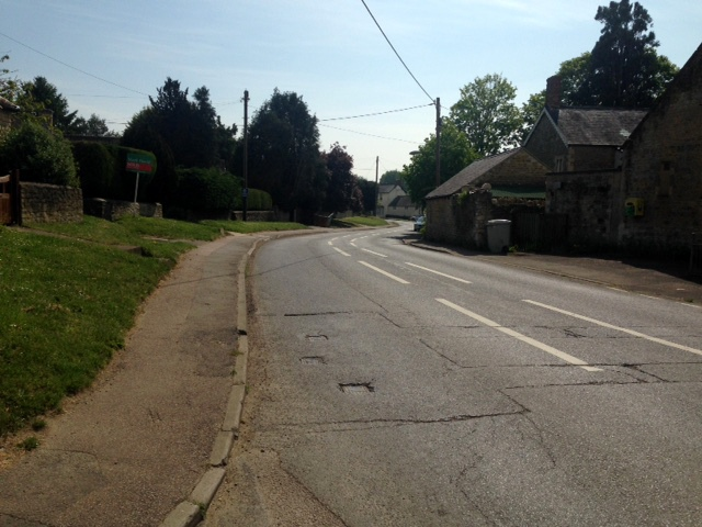 Empty-roads-North-Street-from-Alice-Marshall-Hall