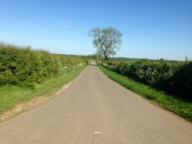 Empty-roads-Towards-Steeple-Barton-Church