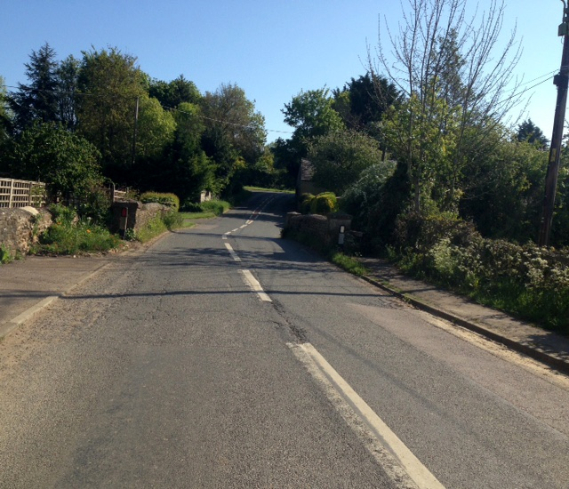 Empty-roads-Westcote-Barton-bridge