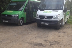 Ourbuses-parked-up-as-they-couldnt-run-any-services