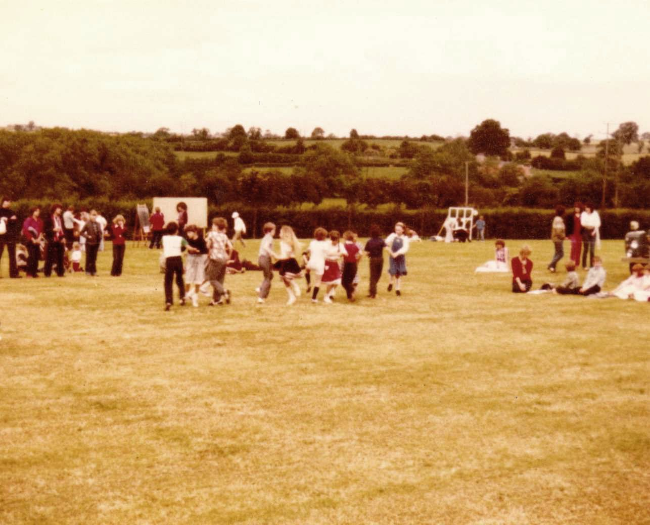 c. 1978 Middle Barton School Fete.