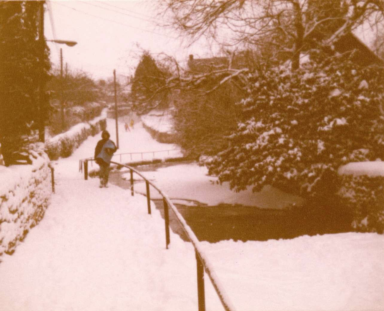 c. 1983. Ford in Mill Lane.