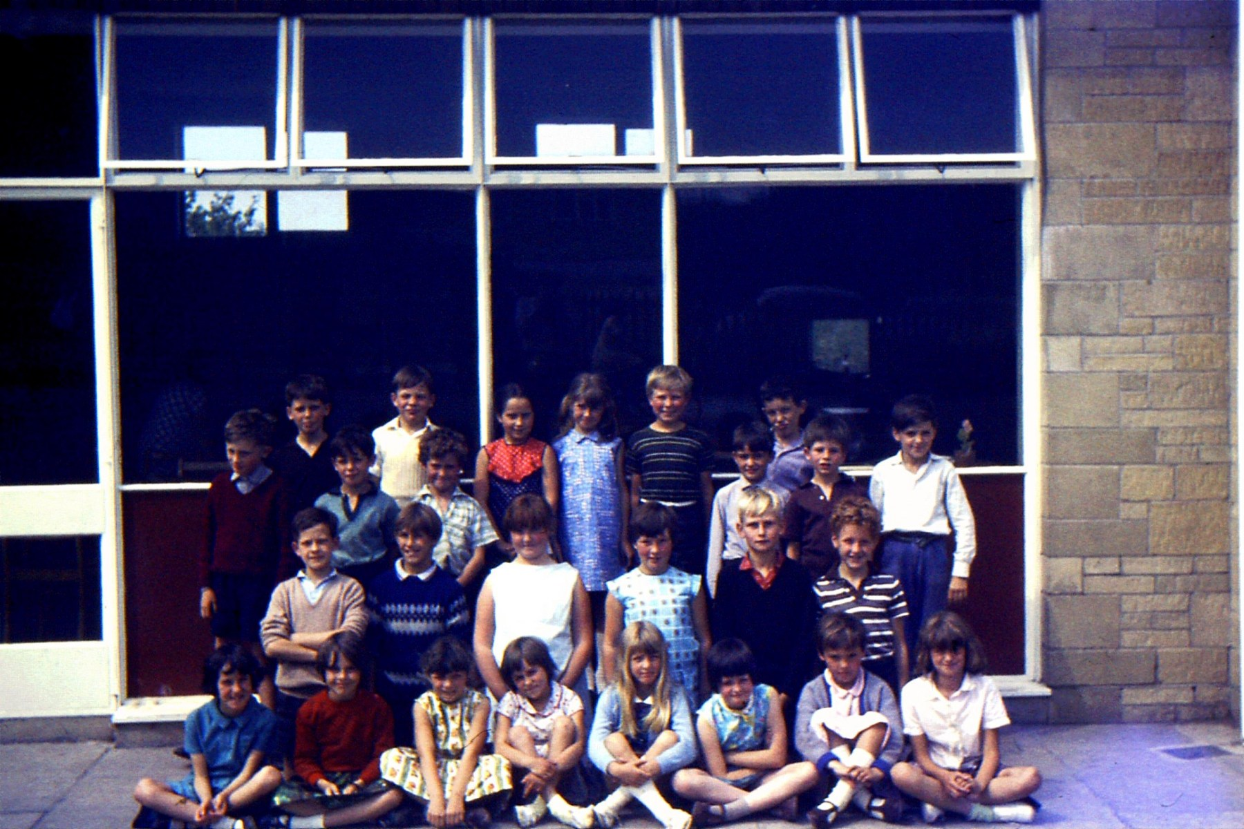 Photo donated by Michael Waine, retired Head of Glory Farm School Bicester. Michael taught at MBS from 1966-69.